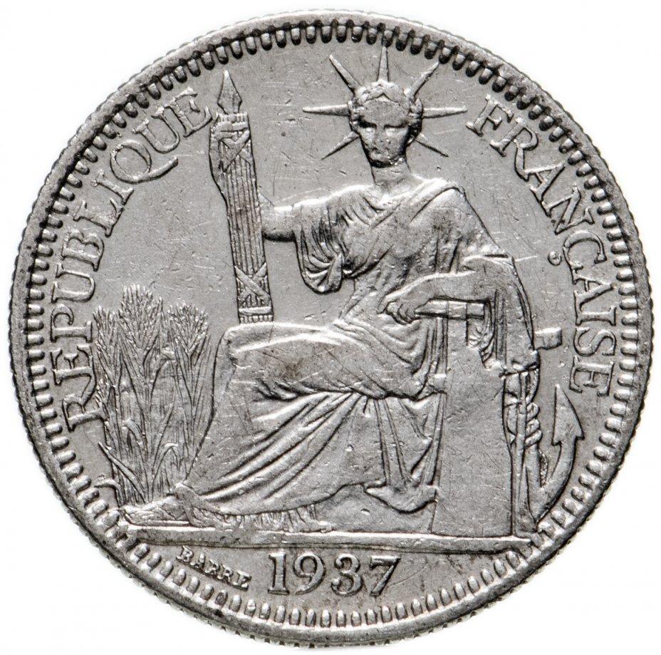 купить Французский Индокитай 10сантимов (centimes) 1937