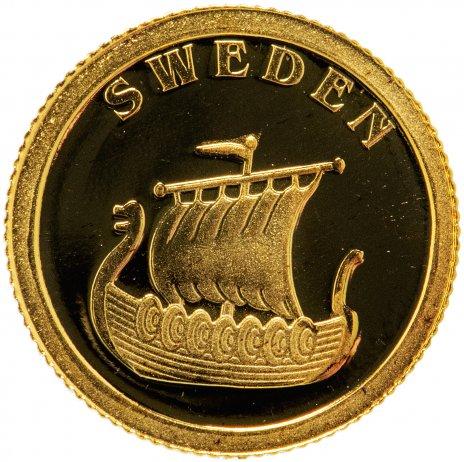 """купить Либерия 12 долларов 2008 """"Европейские страны - Швеция"""""""
