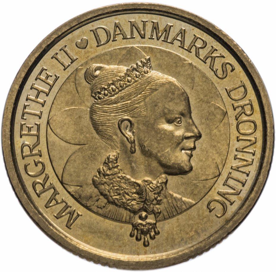 """купить Дания 20крон (kroner) 2000 """"60 лет со дня рождения королевы Маргрете II"""""""