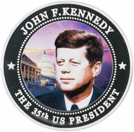 купить Либерия 5 долларов 2009 Джон Кеннеди