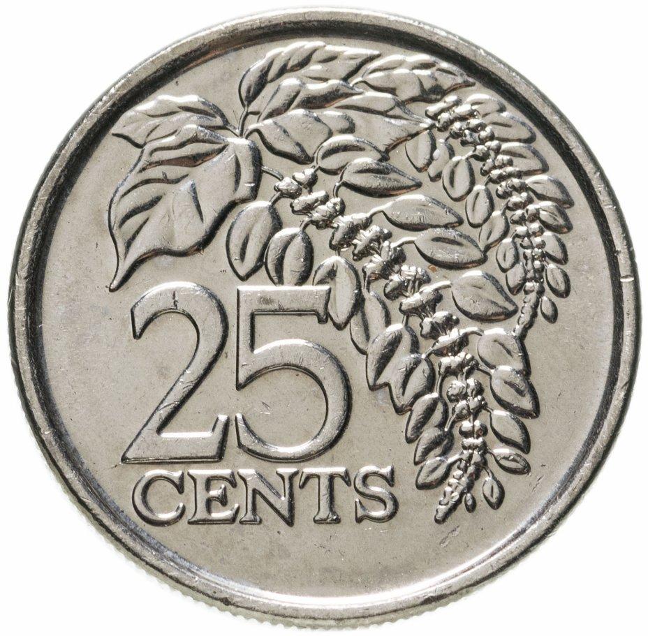 купить Тринидад и Тобаго 25 центов (cents) 2017 магнетик