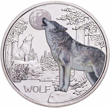 купить Австрия 3 евро 2017 Волк
