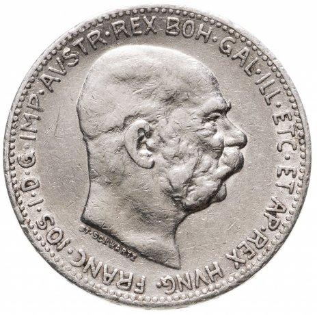купить Австро-Венгрия 1 крона 1912 год  для Австрии