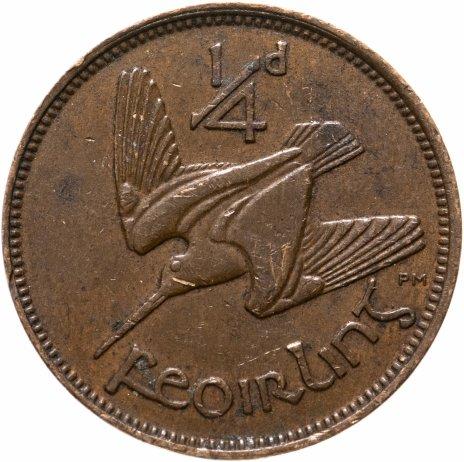 купить Ирландия 1/4 пенни (1 фартинг) 1928