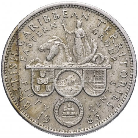 купить Британские Карибские Территории (Восточные Карибы) 50 центов 1965