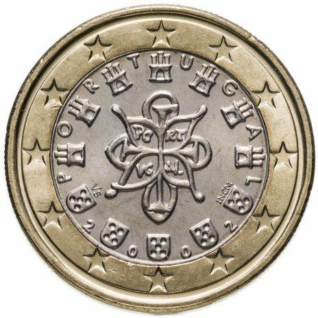 купить Португалия 1 евро 2002