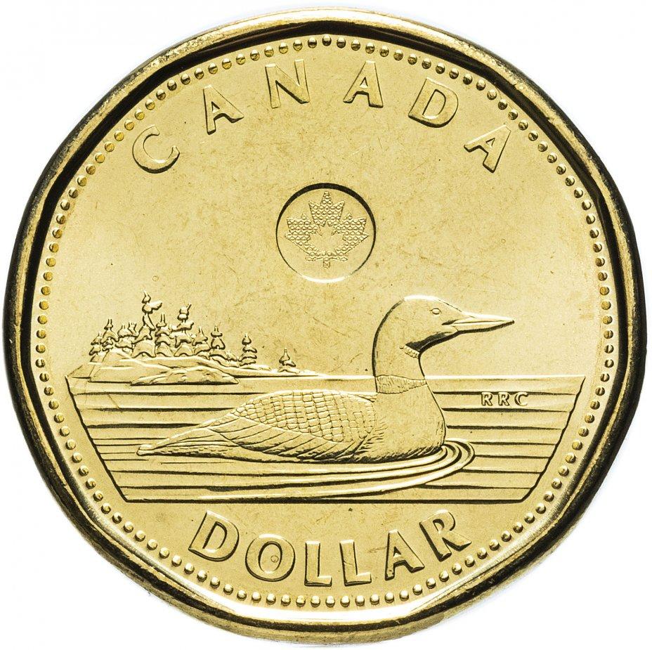 купить Канада 1 доллар 2016