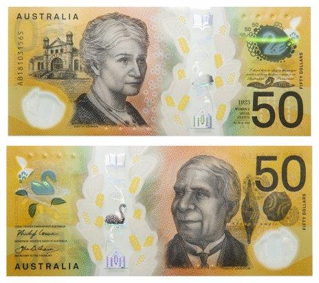 купить Австралия 50 долларов 2018 (Pick **)