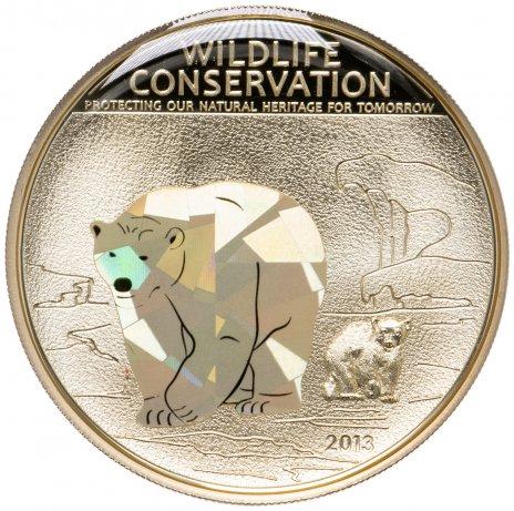 купить Острова Кука 5 долларов 2013 «Полярный медведь»
