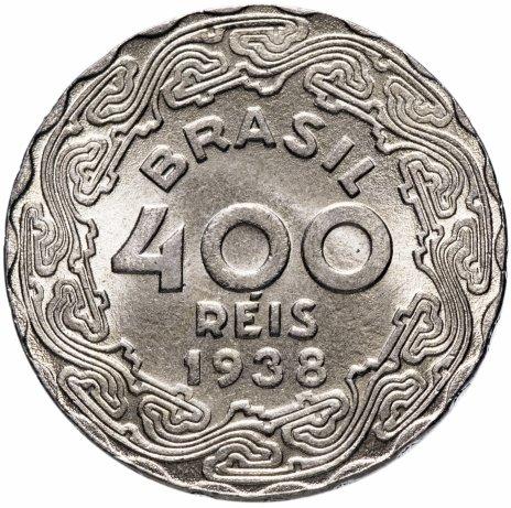 """купить Бразилия 400 рейс (reis) 1938   """"Жетулиу Дорнелис Варгас"""""""