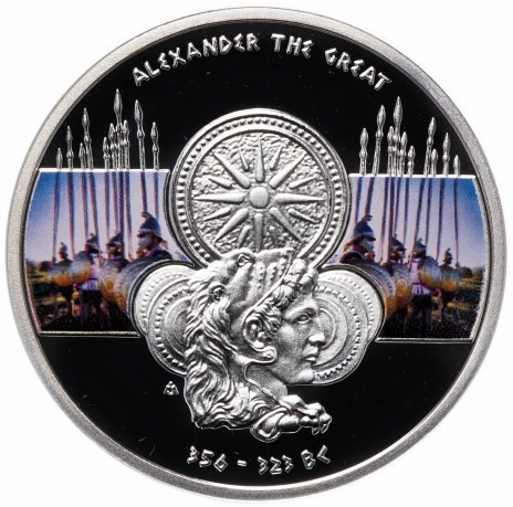 """купить Остров Ниуэ 1 доллар 2011 """"Великие полководцы - Александр Великий"""""""