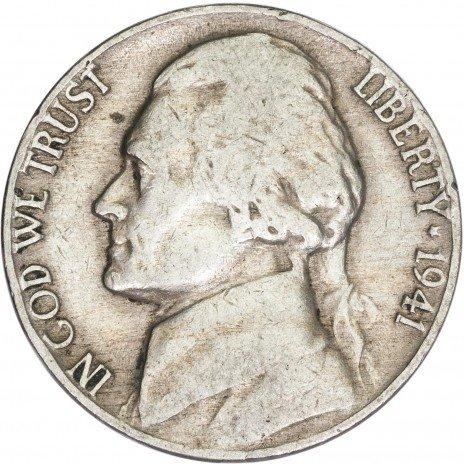 купить США 5 центов 1941