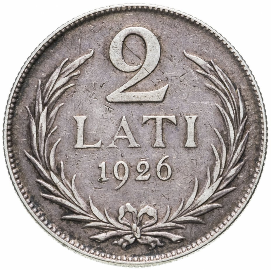 купить Латвия 2 лата (lati) 1926