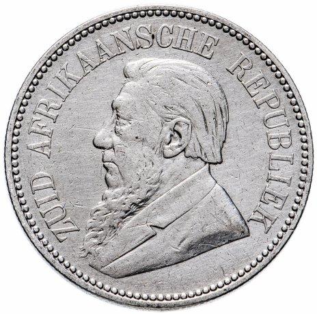 купить Южно-Африканская Республика (Трансвааль) 2 1/2 шиллинга 1897 год Президент Пауль Крюгер