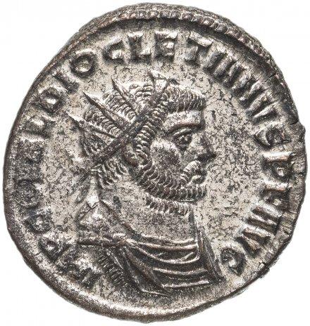 купить Римская империя, Диоклетиан, 284-305 годы, Аврелианиан (посеребренный). Геракл