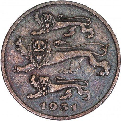 купить Эстония 5 сенти 1931