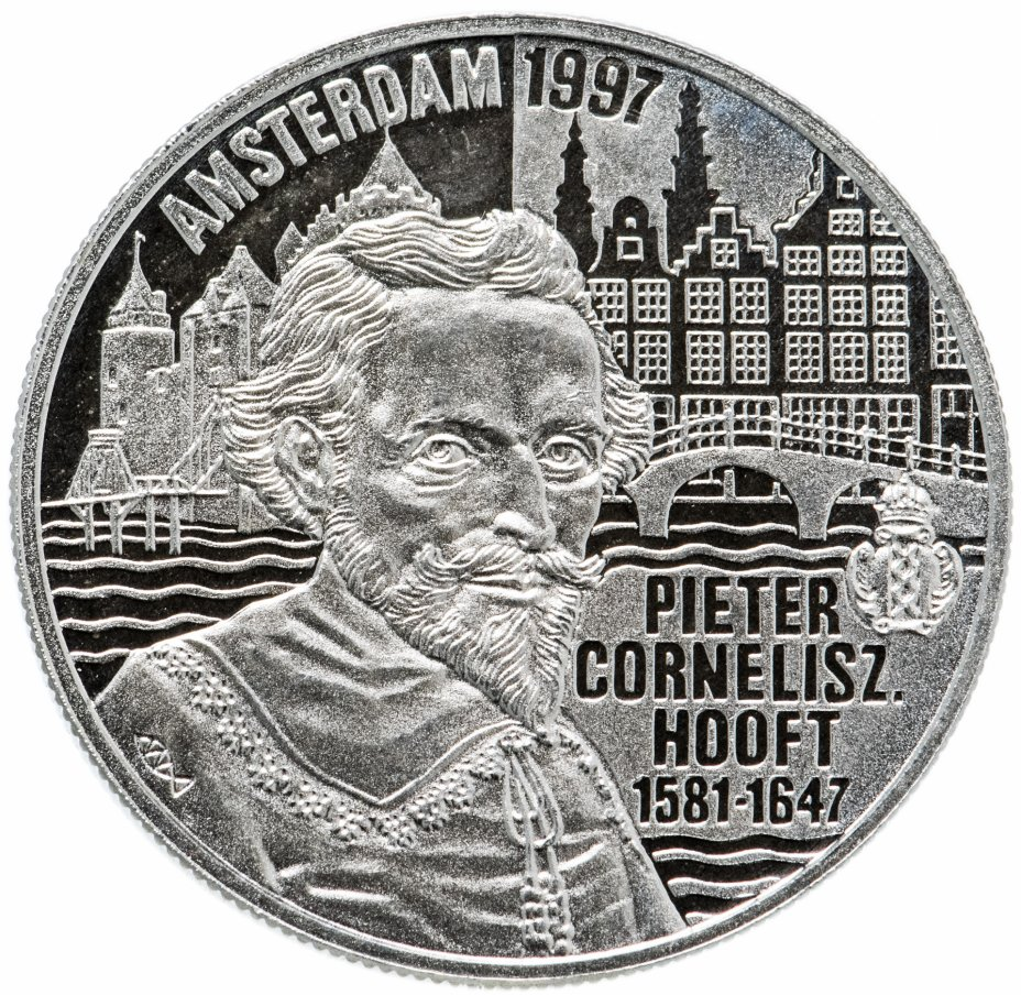 "купить Нидерланды 20 евро 1997 ""Питер Хофт"""