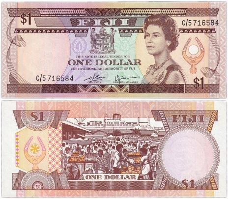 купить Фиджи 1 доллар 1980 (Pick 76a)