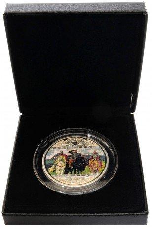 купить Острова Кука 20 долларов 2010 Васнецов – «Шедевры мирового искусства: Богатыри» в футляре