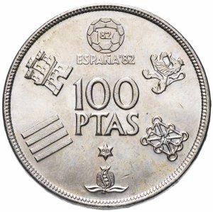 100 песет испания футбол