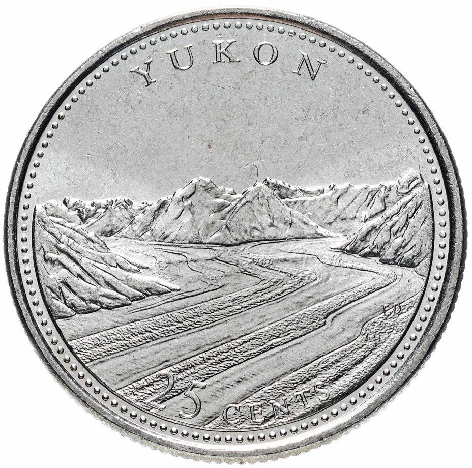 """купить Канада 25 центов (cents) 1992 """"125 лет Конфедерации Канада - Юкон"""""""