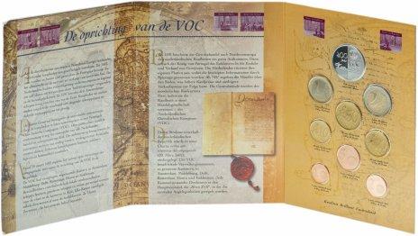 купить Нидерланды набор из 9 монет 2002, в буклете