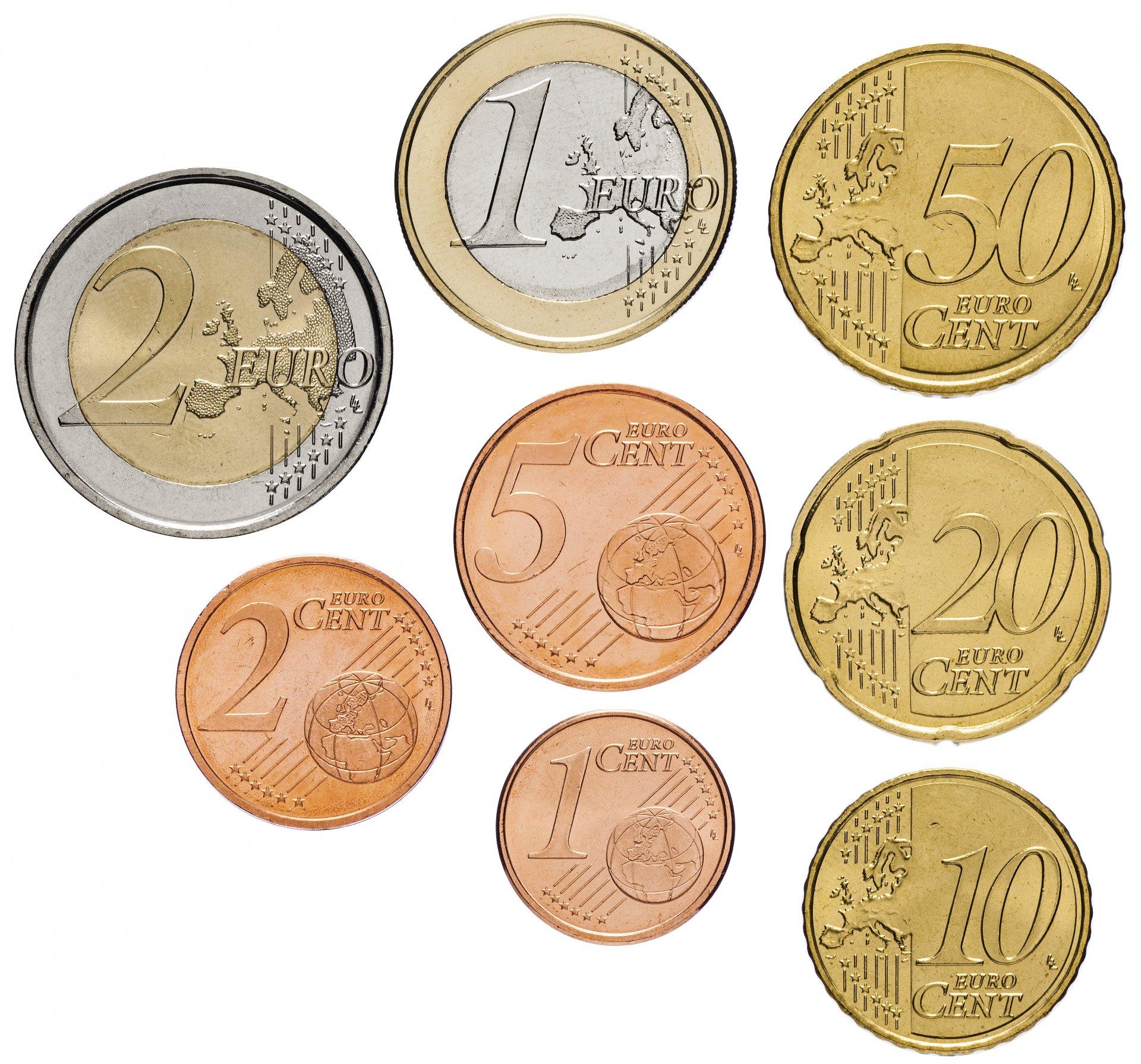 Монета евро 2014 цена футляры под монеты купить