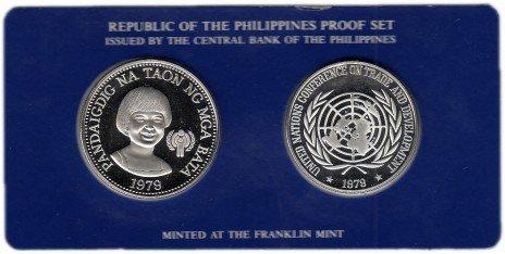 купить Филиппины набор юбилейных монет 1979 Proof (2 монеты)