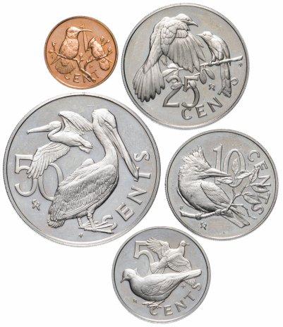 купить Виргинские острова набор из 5 монет 1974-1979