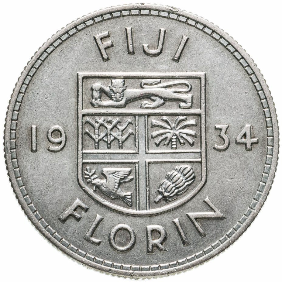 купить Фиджи 1 флорин (florin) 1934