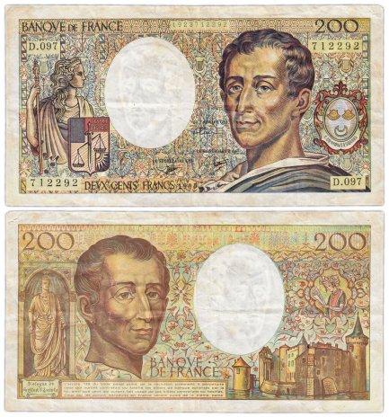 купить Франция 200 франков  1990 (Pick 155)