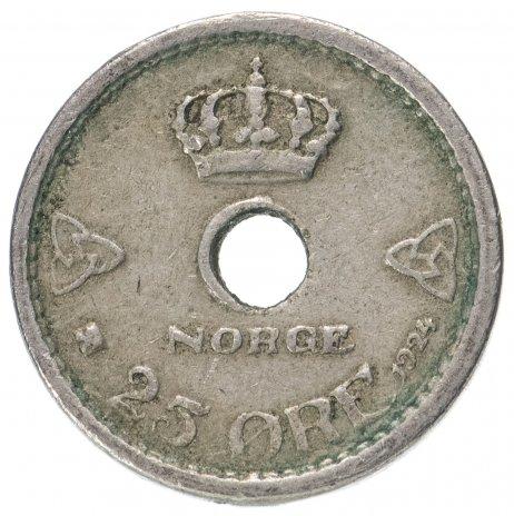 купить Норвегия 25 эре (ore) 1924-1950, случайная дата