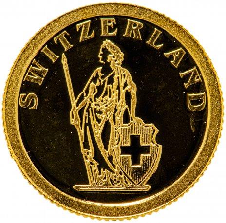"""купить Либерия 12 долларов 2008 """"Европейские страны - Швейцария"""""""