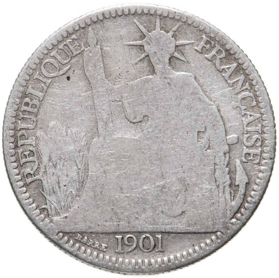 купить Французский Индокитай 10сантимов (centimes) 1901