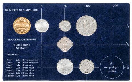 купить Нидерландские Антильские острова годовой набор 1983
