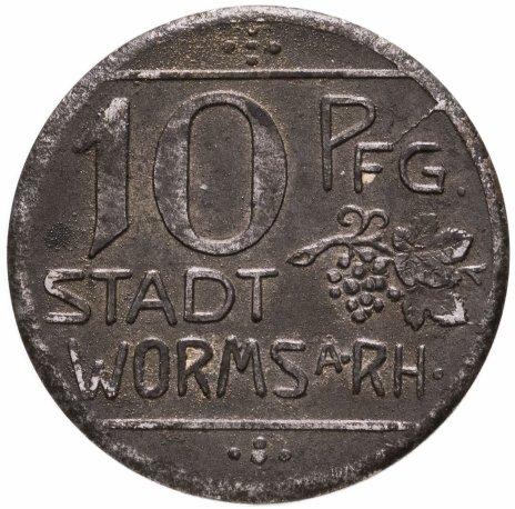 купить Германия (Вормс) нотгельд 10 пфеннигов 1918