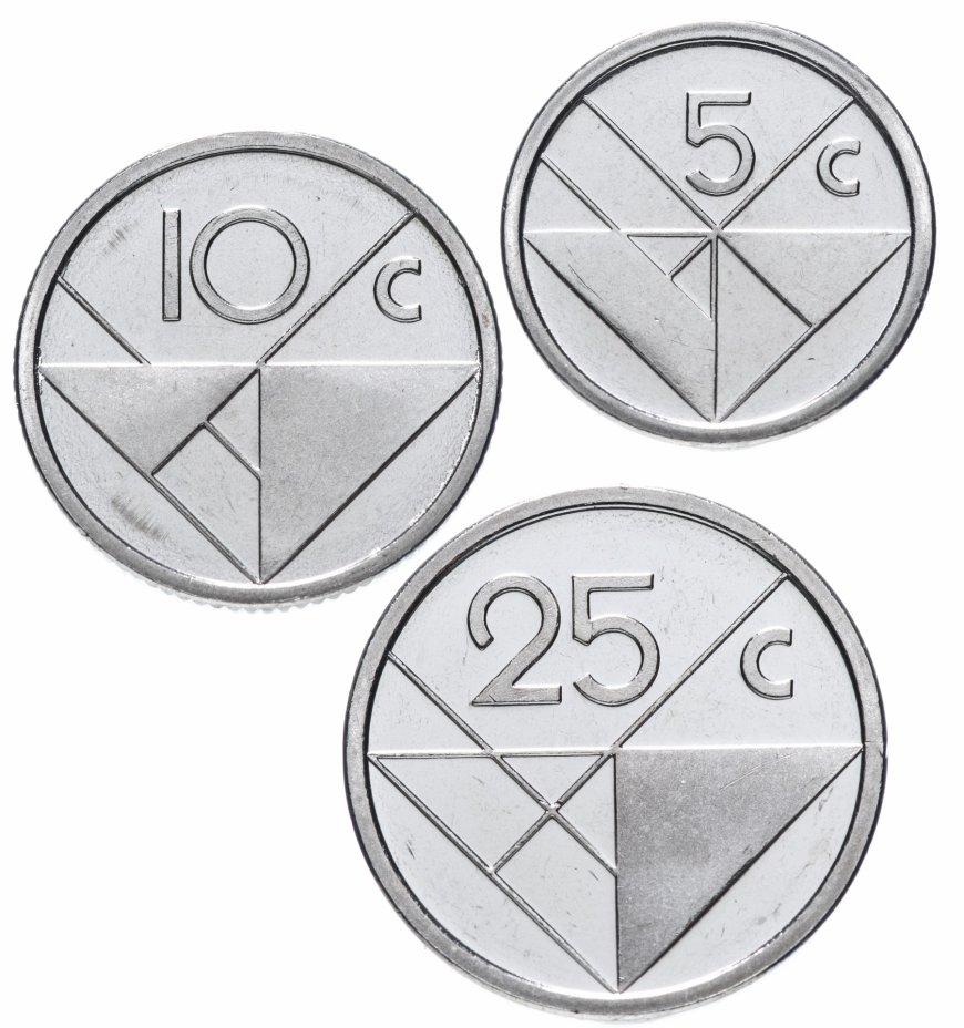 купить Аруба набор монет 2018-2019 (3 штуки)