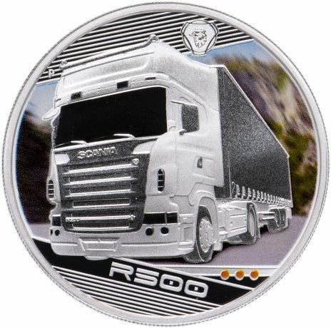 купить Тувалу 1 доллар 2010 «Короли дорог. Машина Scania R500 (Швеция)»