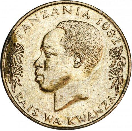 купить Танзания 20 сенти 1982