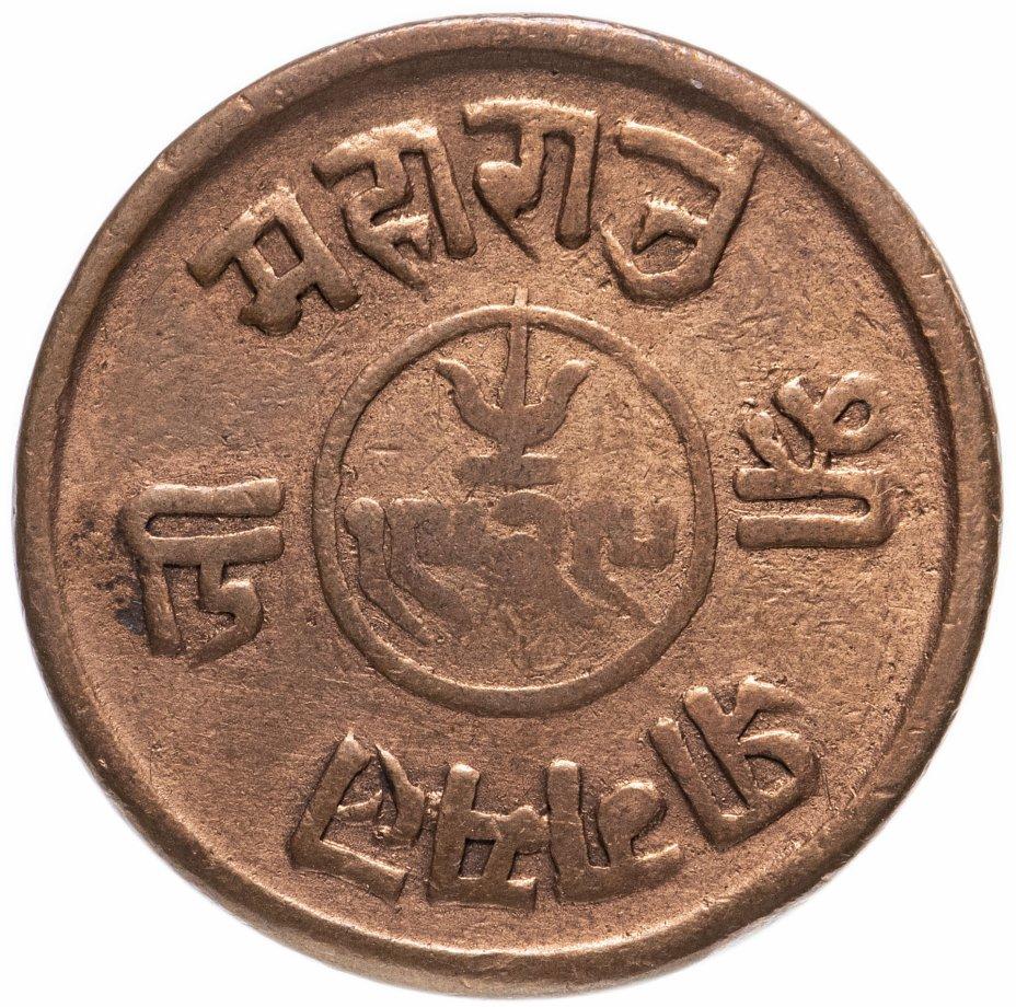 купить Индия (Княжество Кач) 1,5 докдо 1869-1872