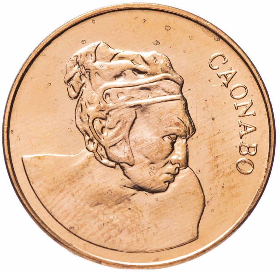 купить Доминикана 1 сентаво (centavo) 1987