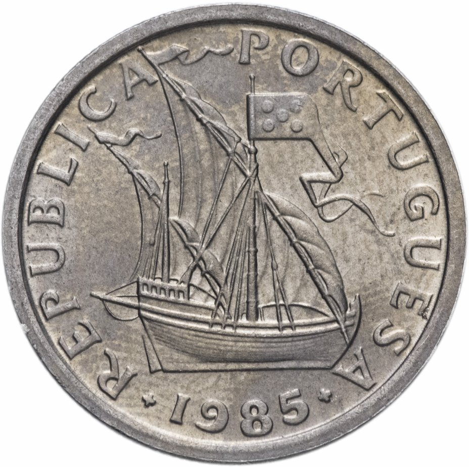 купить Португалия 2,5 эскудо 1963-1985