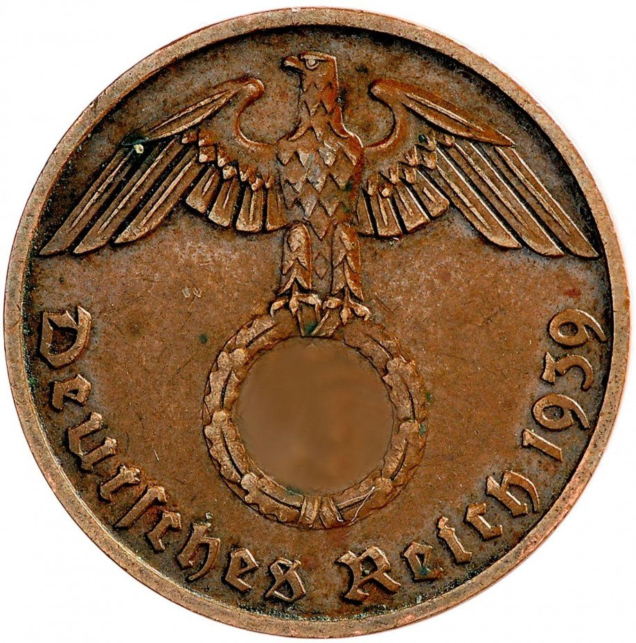 купить Германия 2 пфеннига 1939