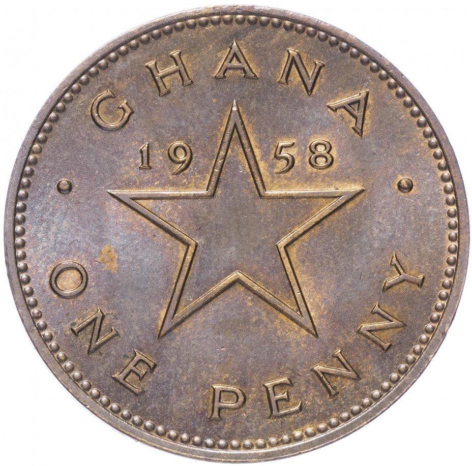 купить Гана 1 пенни 1958