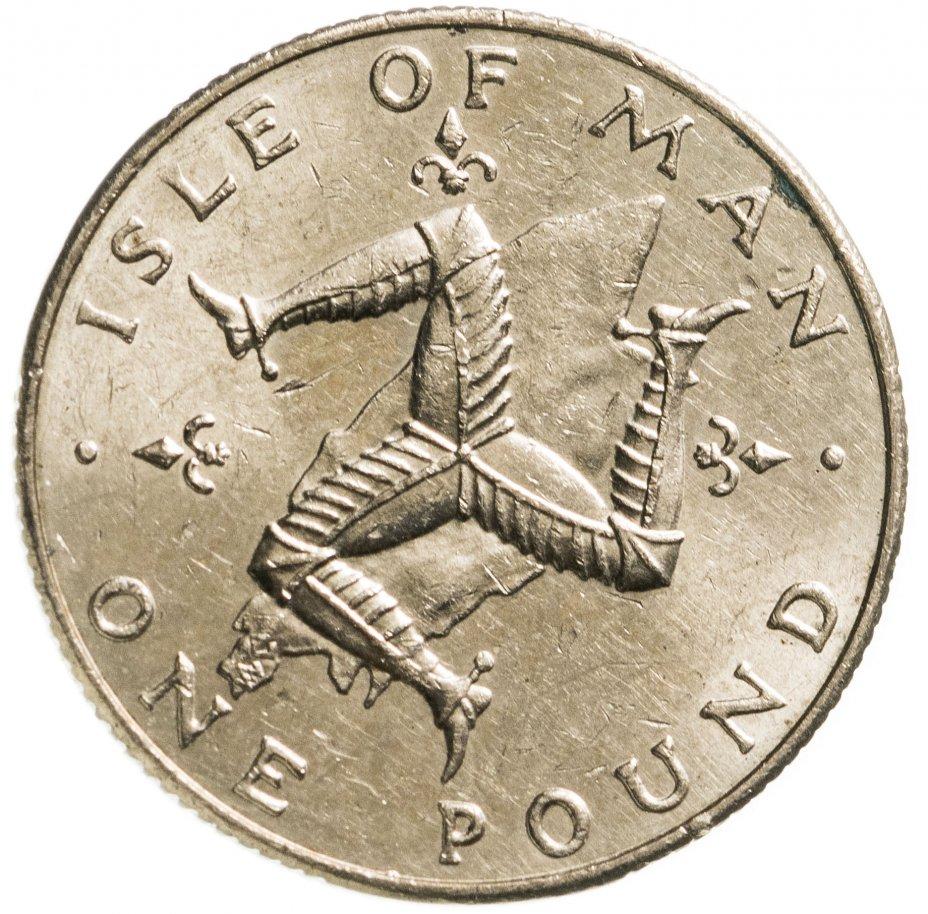 купить Остров Мэн 1 фунт (pound) 1978