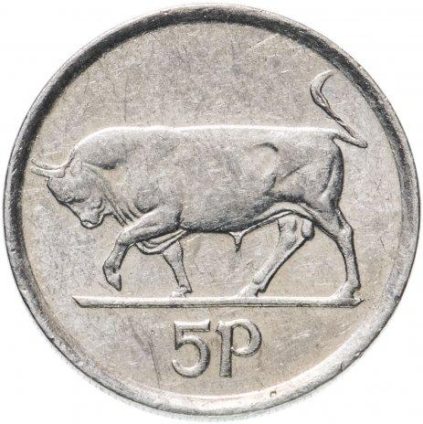купить Ирландия 5 пенсов (pence) 1992-2000