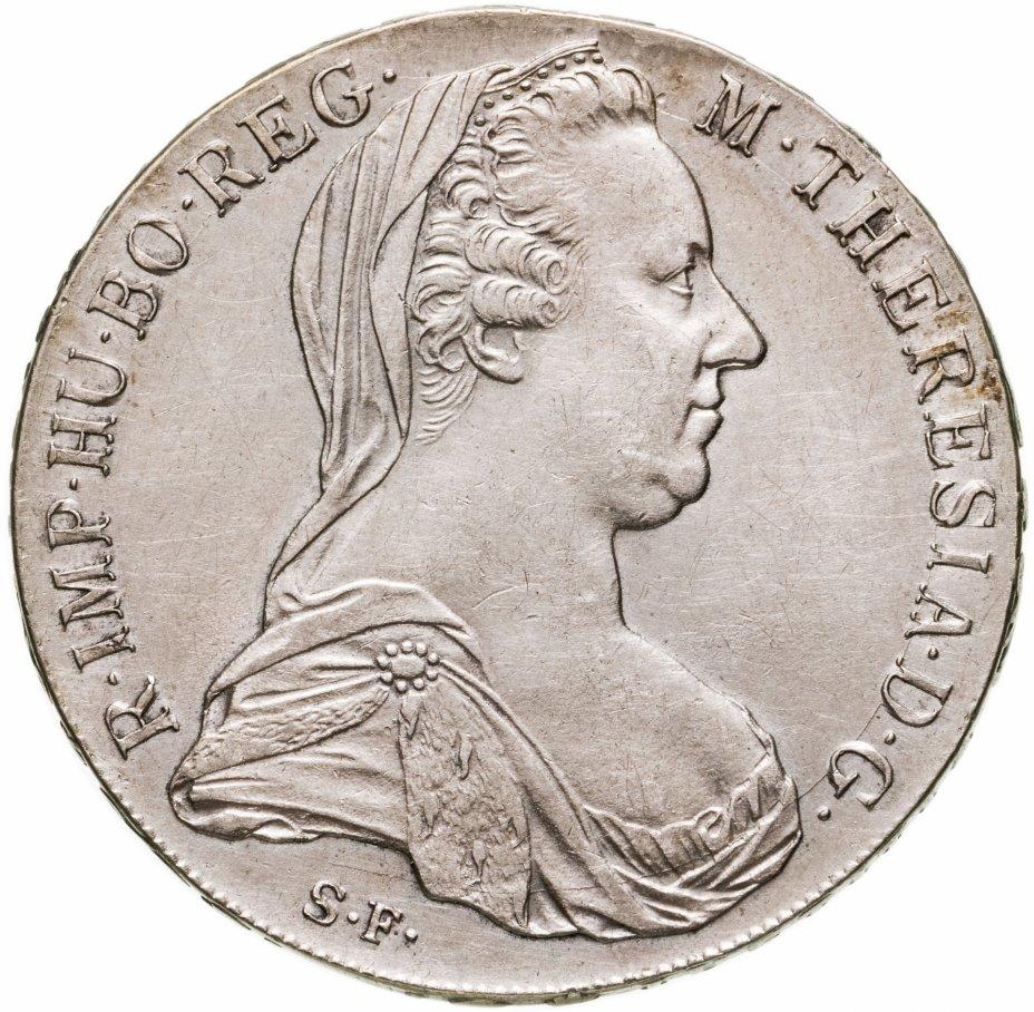 купить Австрия 1 талер (thaler) 1780  талер Марии Терезии рестрайк (новодел)