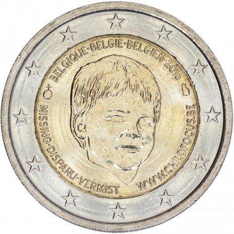 """купить Бельгия 2 евро 2016 """"Европейский центр Child Focus"""""""