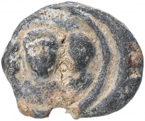 купить Рим, Феодосий , с сыновями Аркадий и Гонорий , 379-395 гг, офицальный Моливдовул.(Свинцовая пломба)