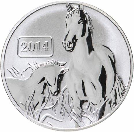 """купить Токелау 5 долларов 2014 """"Год лошади"""" в футляре"""